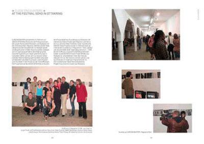Katalog Close Encounters, KulturAXE, Grafik Eszter Kapitany