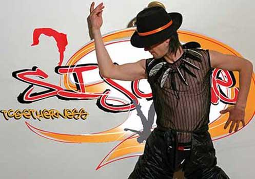 Programmheft Sisonke 2010, KulturAXE, Covergestaltung Mascha Fekete, Foto Michael Dürr