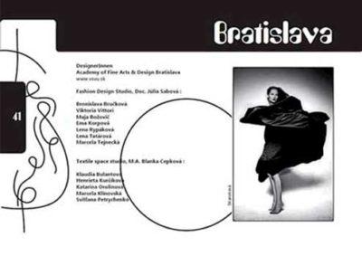Programmheft Sisonke 2010, KulturAXE, Grafik Natalie Raskovic